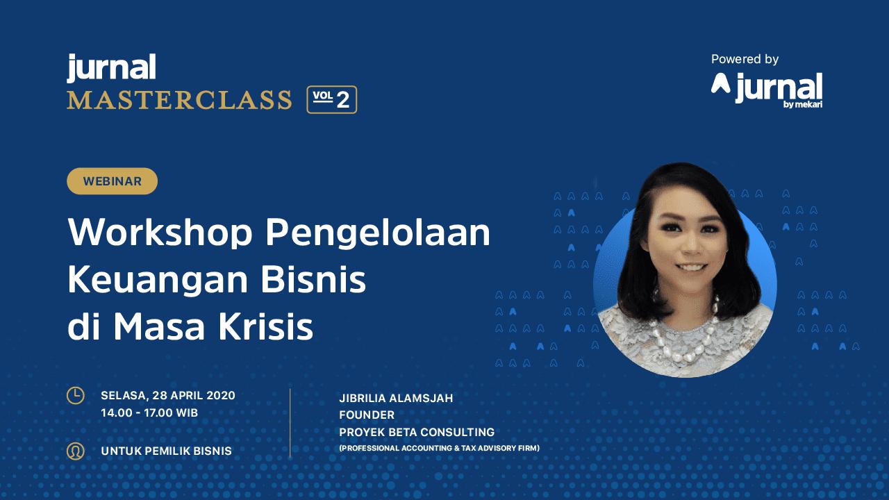 Jurnal Masterclass Vol. 2 : Workshop Pengelolaan Bisnis di ...