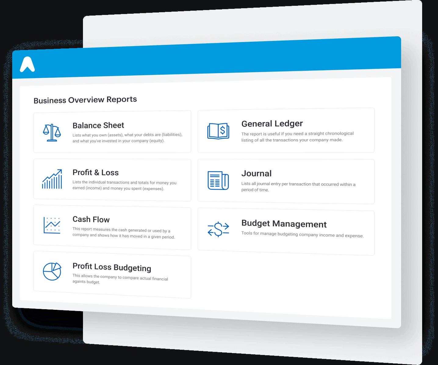 Laporan Business & Keuangan yang lengkap